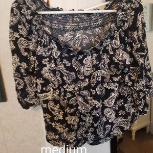 Tops - Bandana pattern shirt